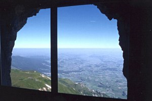 Aussichtspunkt Stockhorn-Augen in Erlenbach im Simmental