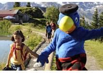 Kindergeburtstag mit Globi auf dem Brunni