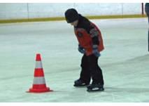 Eislaufen in der Rheinhalle in Lustenau