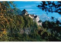 Wanderung Auf dem Fürstenweg von Schaan nach Vaduz