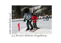 Globis Winterland im Skigebiet Brunni Engelberg