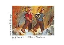 """Märchenweg """"Lisa und Max"""" in Malbun"""