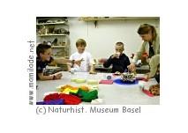 Kindergeburtstag im Naturhistorischen Museum Basel
