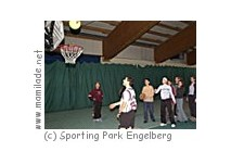 Funparcours im Sporting Park Engelberg