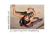 Klettern im Sporting Park Engelberg