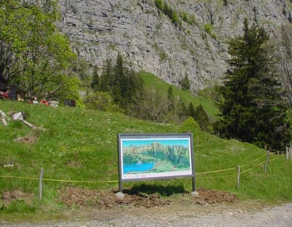 Alp- und Kulturweg Schrina in Walenstadt