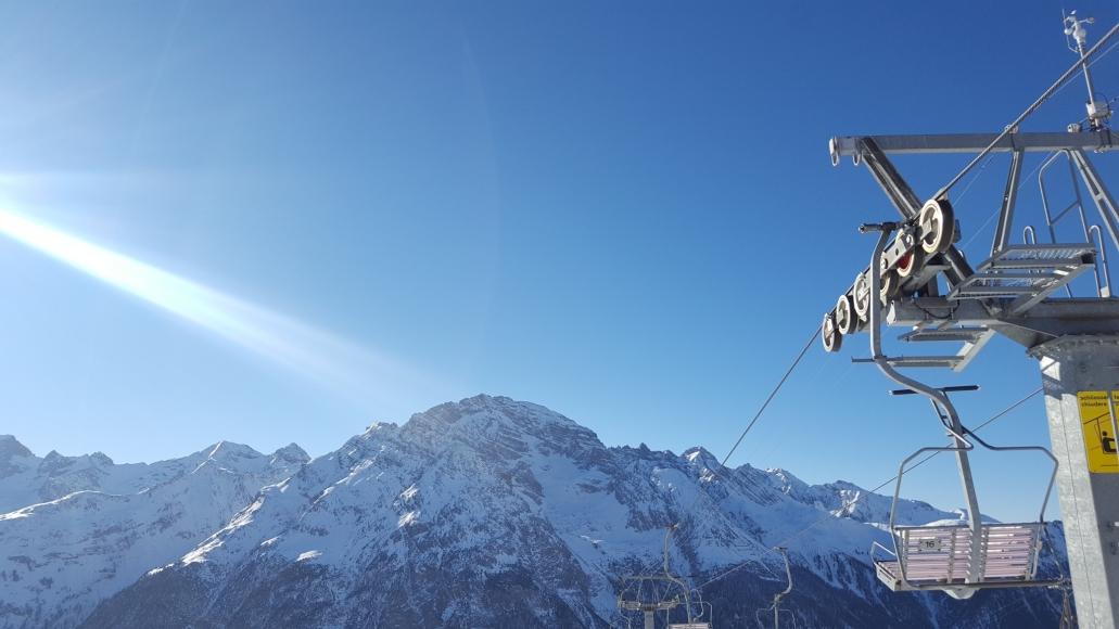 Skifahren in Bergün