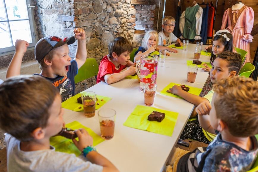 Kindergeburtstag auf der Burg Zug
