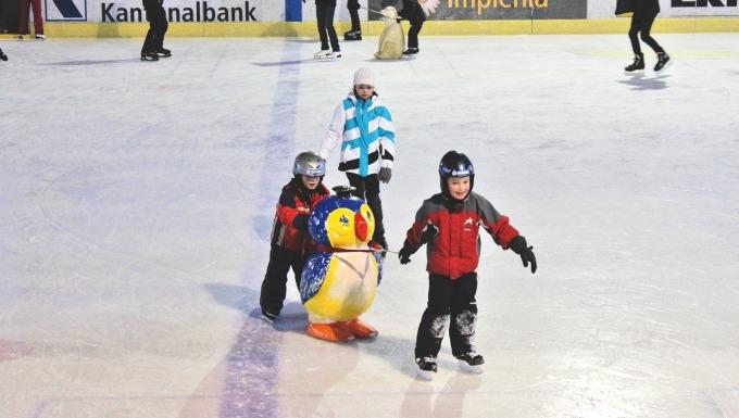 Eishalle Flims im Sportzentrum Prau la Selva