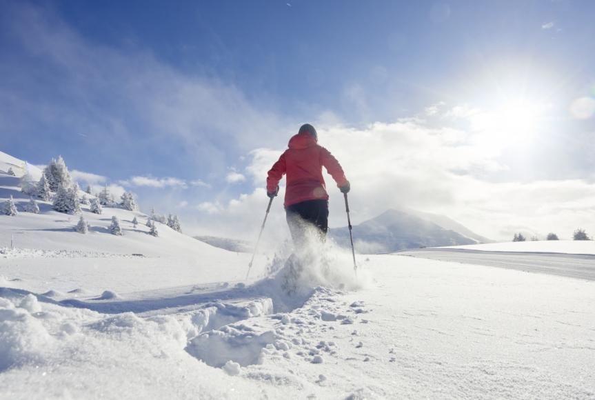 Wintererlebnis in Feldis