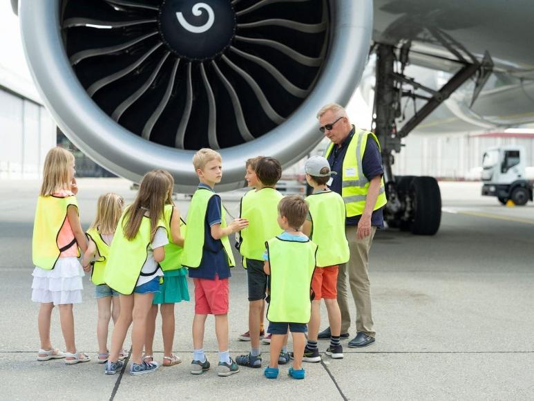 Kindergeburtstag Flughafen Zürich