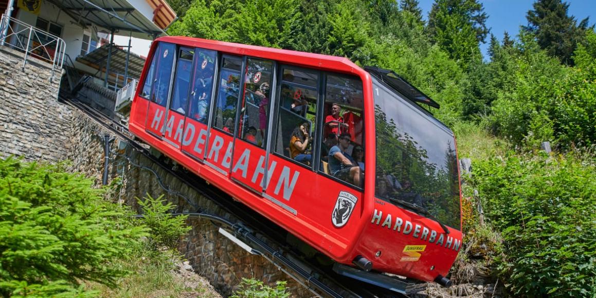 Harderbahn bei Interlaken