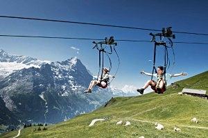 First Flieger in Grindelwald