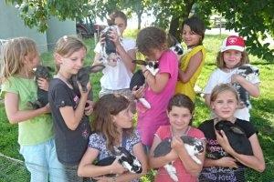 Kindergeburtstag mit der Kidsfarm