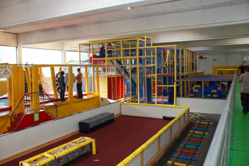 Nilpfi Indoor- Kinderspielplatz in Solothurn