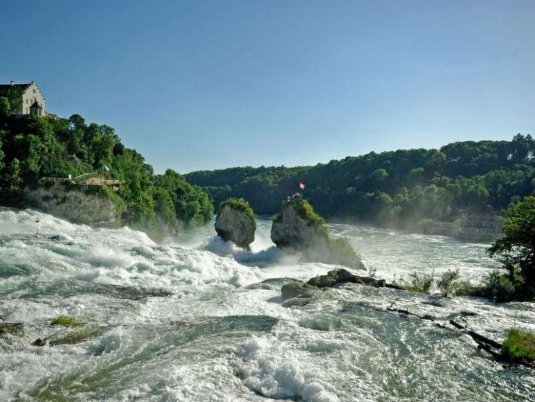 Der Rheinfall bei Neuhausen