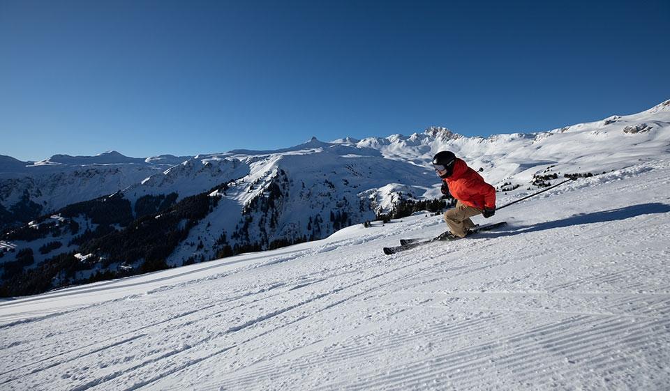 Wintersportgebiet Flumserberg