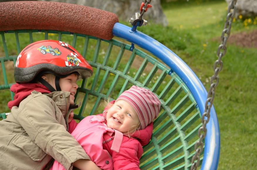 Kinderspielplatz Bort bei der Firstbahn in Grindelwald