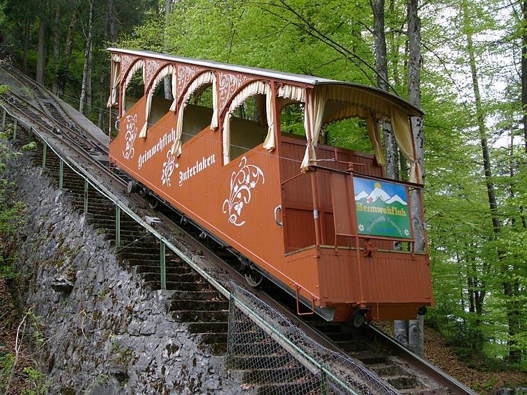 Drahtseilbahn Heimwehfluh