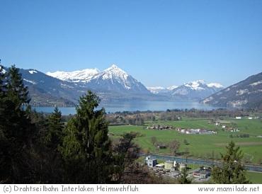 Drahtseilbahn Heimwehfluh in Matten bei Interlaken