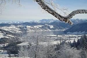 Winterwanderwege bei der Zugerbergbahn, copyright: Zuberbergbahn AG
