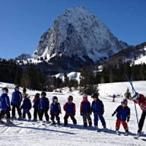 Skilift Brunni in Alpthal