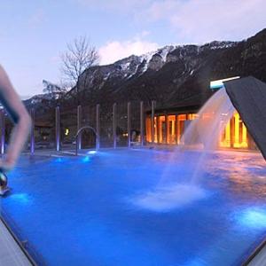 Mineralbad Aquandeer in Andeer