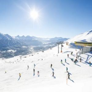 Pistenspass im Skigebiet Arosa