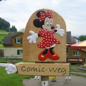 Comicweg in Lütisburg