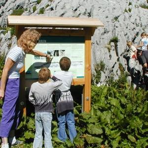 Alpwirtschafts- und Naturlehrpfad in Kiental