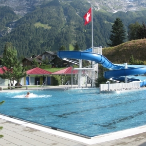 Freibad Hellbach in Grindelwald