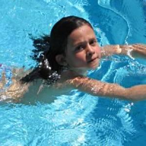 Schwimmbad in Ilanz