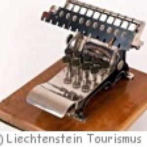 Schreibmaschinenmuseum in Schaan