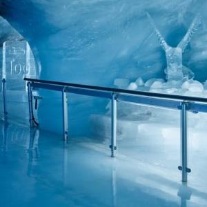 Eispalast auf dem Jungfraujoch