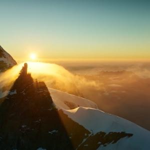 Sphinx-Aussichtsterrasse auf dem Jungfraujoch