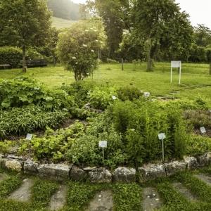 Ricola Kräutergarten auf dem Trogberg in Erschwil