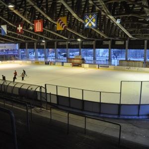 Kunsteisbahn im Sportzentrum Hirslen Bülach