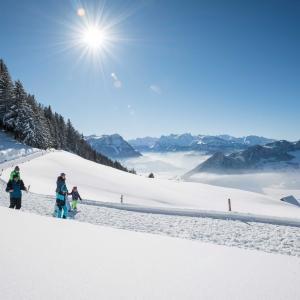 Schneesport in Sattel Hochstuckli