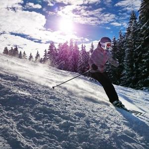 Skifahren Madrisa bei Klosters