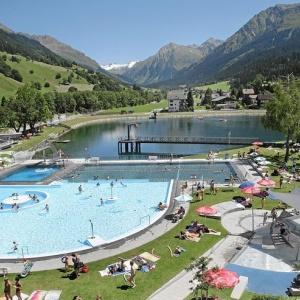 Strandbad in Klosters