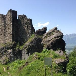 Burgruine Wildschloss in Vaduz