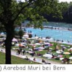 Aarebad in Muri bei Bern