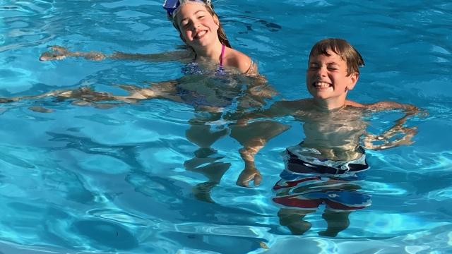 Schwimmbad Weiher in Seuzach