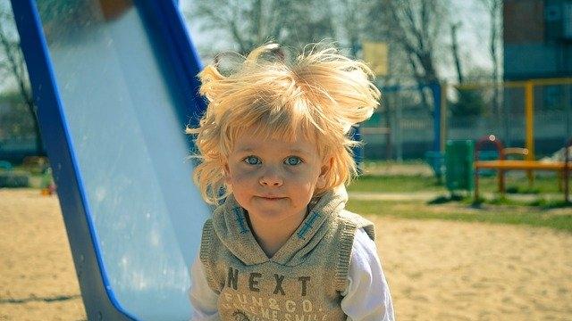 Kinderspielplatz im Hermannpark von Winterthur