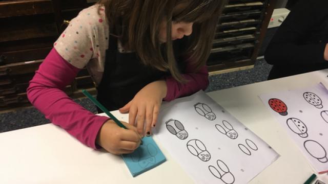 Kindergeburtstag Druckwerkstatt
