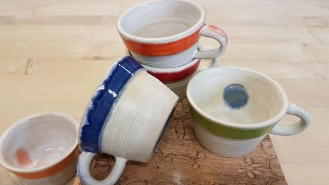 Pinselstrich Ceramic-Café