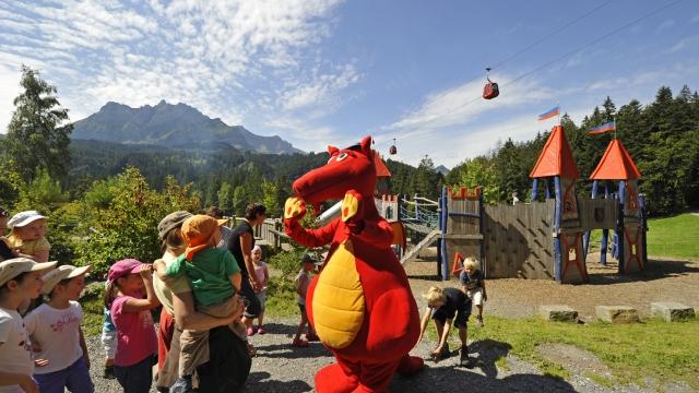 DrachenMoor Naturerlebnis Krienseregg - Spielplatz