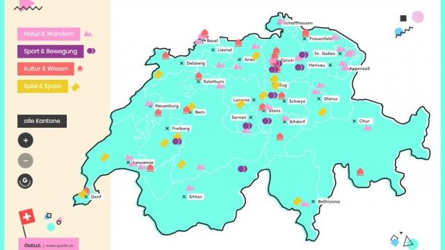 Map Schweiz