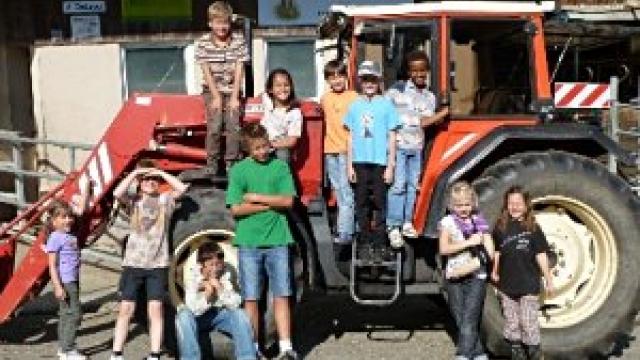 Kindergeburtstag auf dem Bauernhof Berghof in Rohr