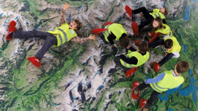 Luzern Verkehrshaus Kindergeburtstag